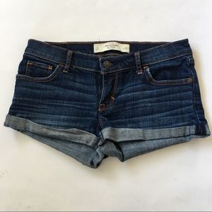 Abercrombie & Fitch Denim Shorts 0/25